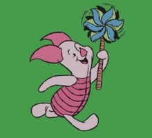 Piglet with a Pinwheel Kids Clothes
