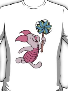 Piglet with a Pinwheel T-Shirt