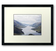 LOCH SHIEL SCOTTISH HIGHLANDS Framed Print
