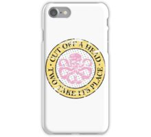 Hydra for ice cream lovers iPhone Case/Skin