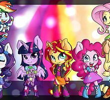 Rainbow Rocks! by PonySplash