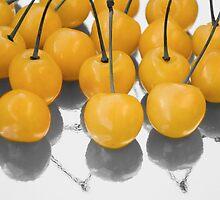 yellow cherry by VioDeSign