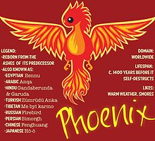 Phoenix With Title by mstiv