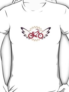FlutterBike Red White Blue T-Shirt