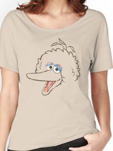 Big Bird Face Women's Relaxed Fit T-Shirt