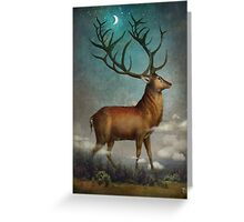King of the Night Greeting Card