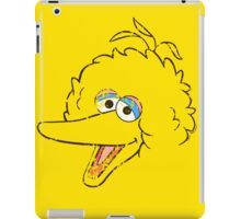 Big Bird Face iPad Case/Skin