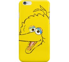 Big Bird Face iPhone Case/Skin
