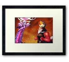 This ends NOW Framed Print