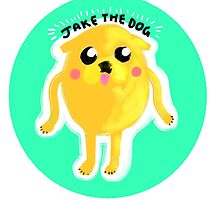 JAKE THE DOG by foxclaw
