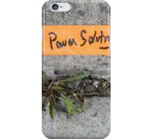 Power Solutions iPhone Case/Skin