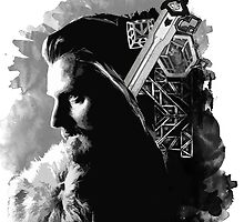 Thorin Oakenshield by tripinmidair