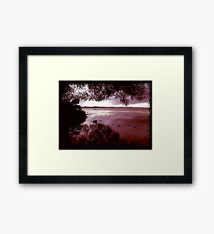 Shores of Lough Neagh Framed Print
