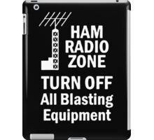 Funny Ham Radio iPad Case/Skin