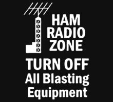 Funny Ham Radio One Piece - Short Sleeve
