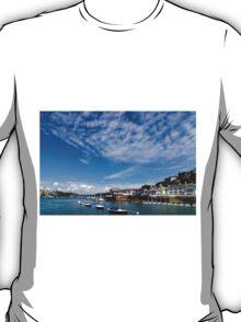 View from river Dart towards Dartmouth, Devon, England  T-Shirt