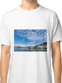 View from river Dart towards Dartmouth, Devon, England  Classic T-Shirt