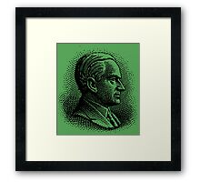 CALVIN COOLIDGE Framed Print