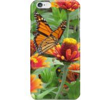 Orange Butterfly Joy iPhone Case/Skin