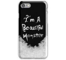 Beautiful monster (Dark version) iPhone Case/Skin