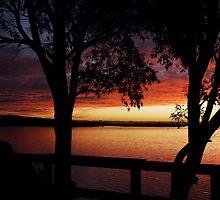 Culburra Beach Sunset #4 by Noel Elliot