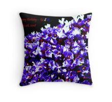 Happy Birthyday - USA....July 4th Throw Pillow
