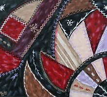 Crazy Quilt  by Leslie Hope Galloway