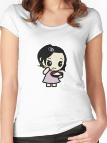 Rice Girl Women's Fitted Scoop T-Shirt