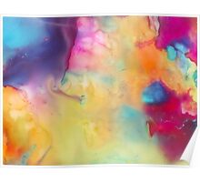 Colored Abstraction Poster