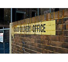Crago Delivery Office Photographic Print
