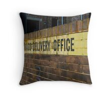 Crago Delivery Office Throw Pillow