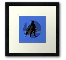 Smash Bros - Marth Framed Print