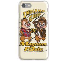 Indiana Chip 'n' Magnum, P.Dale iPhone Case/Skin