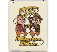 Indiana Chip 'n' Magnum, P.Dale iPad Case/Skin