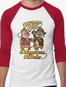 Indiana Chip 'n' Magnum, P.Dale Men's Baseball ¾ T-Shirt