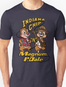 Indiana Chip 'n' Magnum, P.Dale Unisex T-Shirt