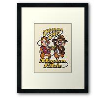 Indiana Chip 'n' Magnum, P.Dale Framed Print