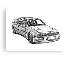 Ford Sierra RS 500 Cosworth 1980s Canvas Print