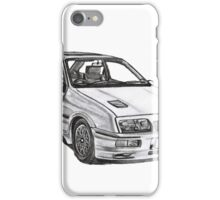 Ford Sierra RS 500 Cosworth 1980s iPhone Case/Skin