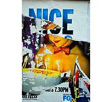 Nice Cake - Street Poster 05 Photographic Print