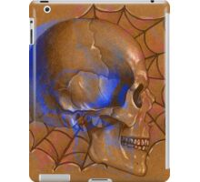 Electric Blue , Traditional Tattoo Skull Design  iPad Case/Skin