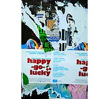 Lucky Cherry - Street Poster 08 Photographic Print