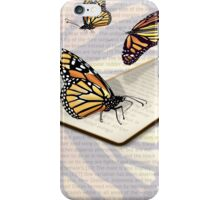All About the Monarch iPhone Case/Skin