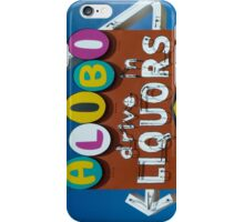 Alibi iPhone Case/Skin