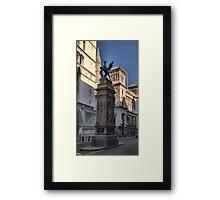 The Temple Bar Memorial (1880) London Framed Print