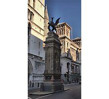 The Temple Bar Memorial (1880) London Photographic Print