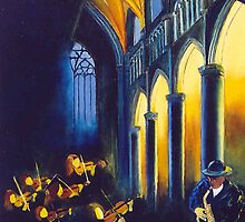Music in the cathedral by calimero
