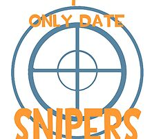 I only date snipers- BLU by macncheesecabra