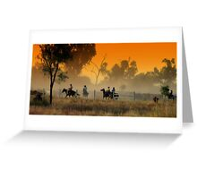 Muster Time Greeting Card
