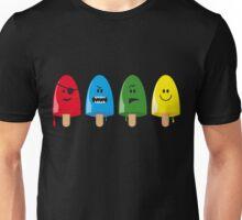 Emotional Range of Popsicles Unisex T-Shirt